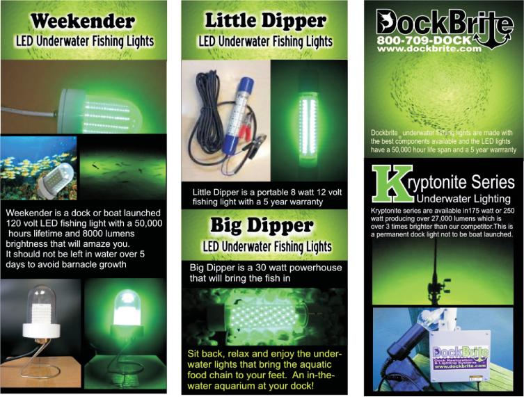 dock accessories - dockbrite®, Reel Combo